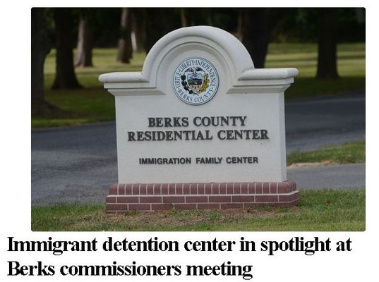 Immigrant detention center in spotlight at Berks commissioners meeting