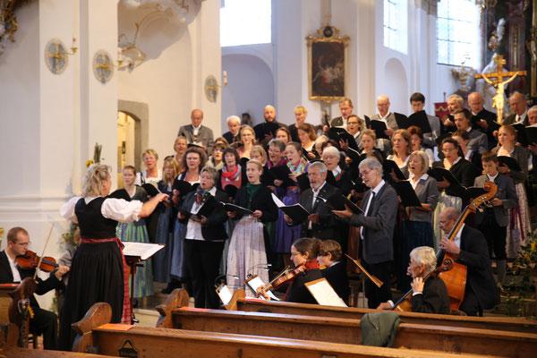 Chorkonzert des Kirchenchors St. Clemens Eschenlohe in Murnau