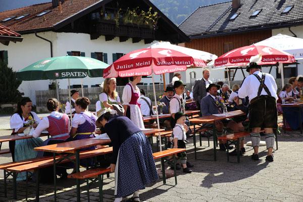 Pfarrfest der Pfarrgemeinde Eschenlohe 2018