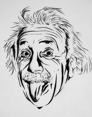 Urban Art, Einstein Portrait