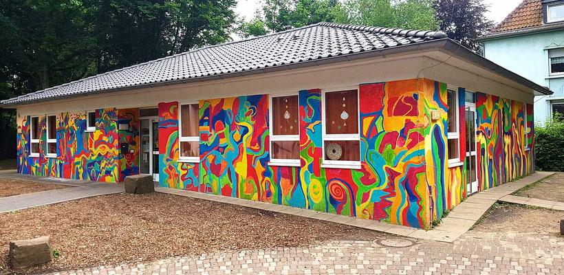Kunstprojekt mit Kindern in Bochum