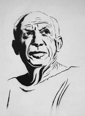 Urban Art, Picasso Portrait