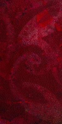 abstraktes Gemälde in Rottönen