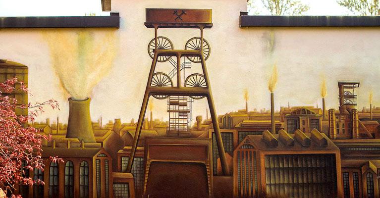 Ruhrpott Wandgestaltung in Bochum
