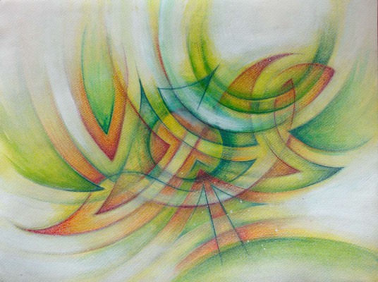 Gemälde Komposition