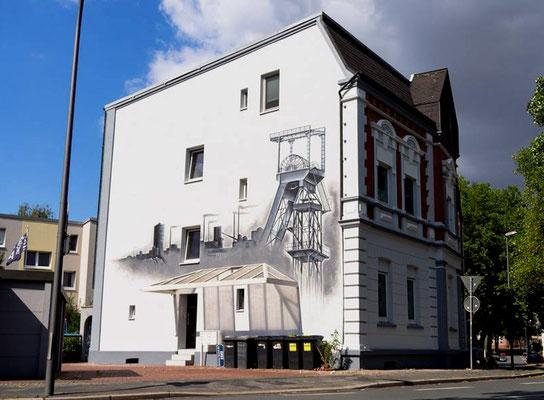 Ruhrpott Fassaden Wandgestaltung in Bochum