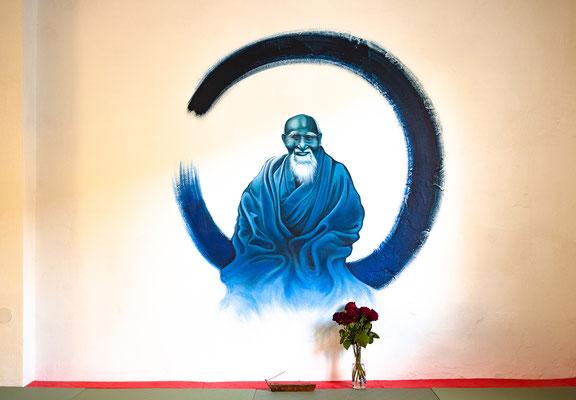 Aikido Wandgestaltung