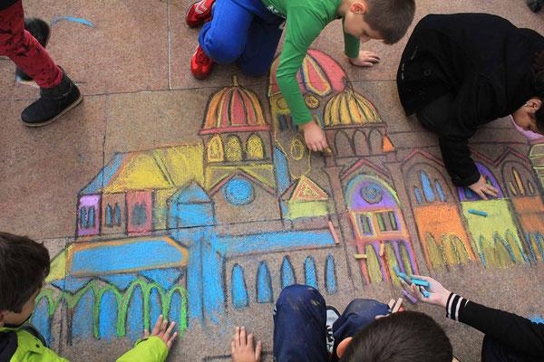 Kinderkunstprojekte