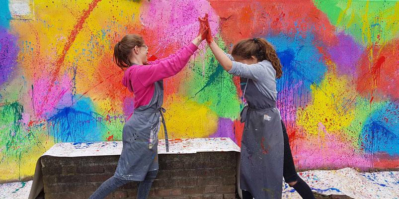 Kunstprojekt mit Kindern in Münster