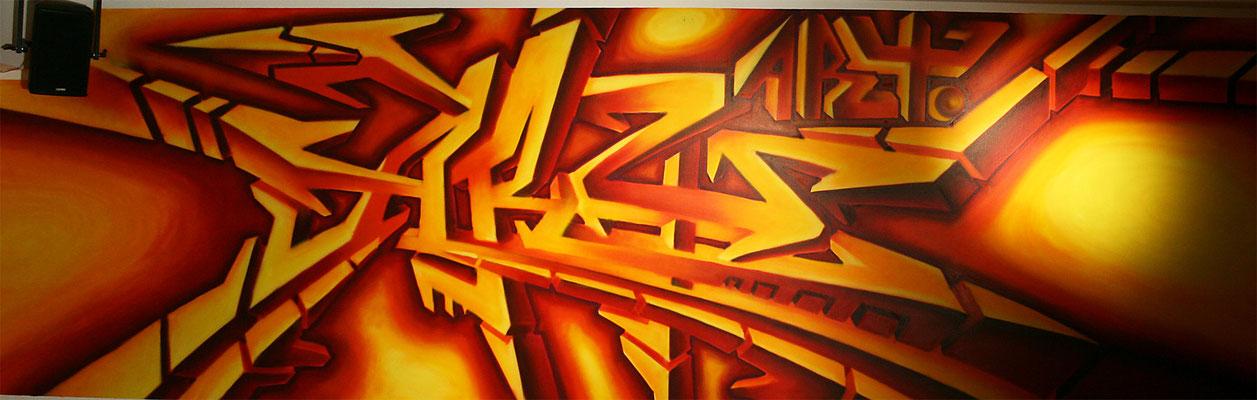 Graffiti Schriftzug
