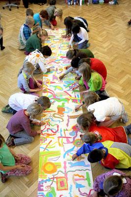 Mal Projekt mit Kindern in Münster