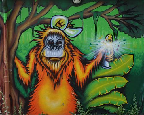 Graffiti Wandgestaltung in Witten