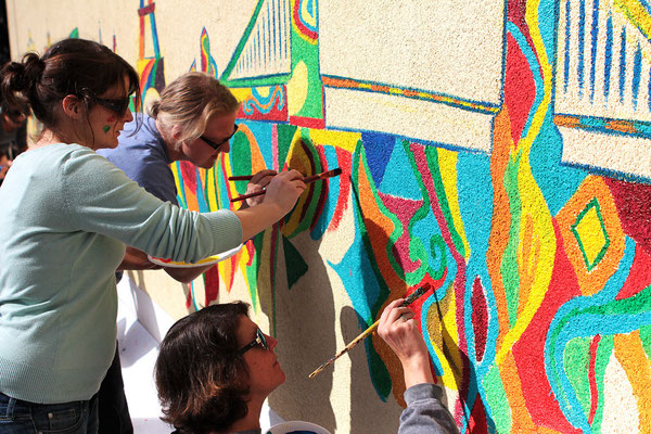 Kunst Team Fortbildung Gilden Grundschule, Dortmund