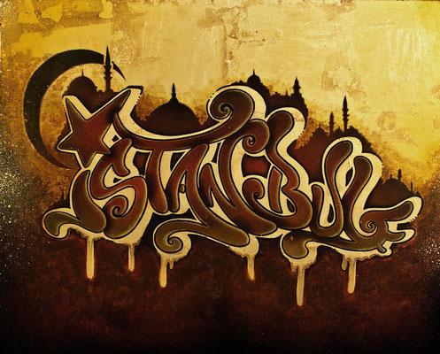 Istanbul Graffiti
