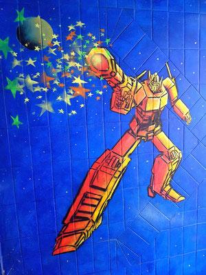 Street Art Projekt mit Jugendlichen in Wetter