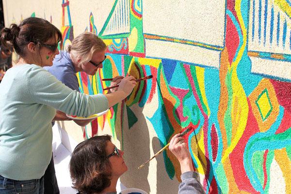 künstlerisches Team Event in Dortmund