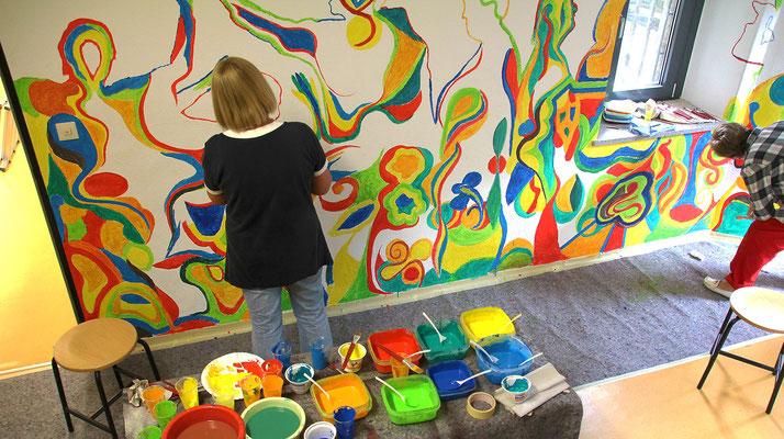 künstlerisches Team Event in Witten