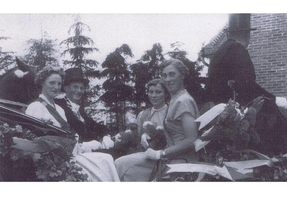 1957/58: Alfons Thien und Anni Flatken