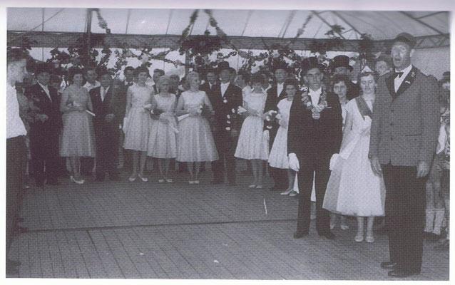 1961-62 Berhard Brand und Elisabeth Heyens
