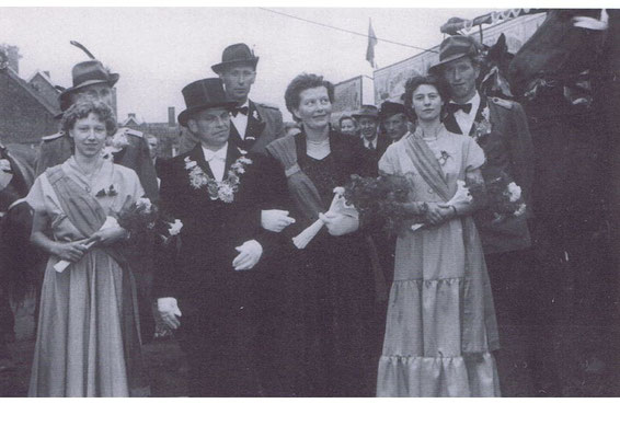 1956/57: Josef und Maria Albers