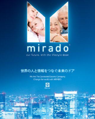 ミラーTVドア「mirado」