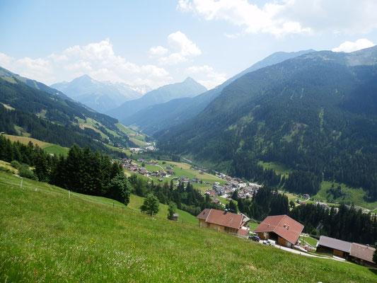 Blick vom Samerhof - Ferienhaus Zillertal
