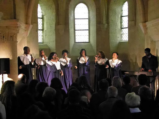 Chérubins Gospel Choir (chapelle du Palais de justice)