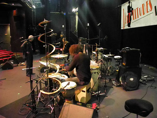 coulisses du concert de Grace & The Victory Riders