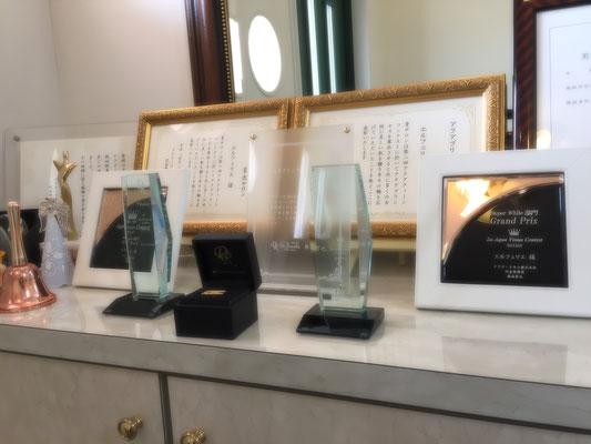 コンテストで数々の賞を頂きました!