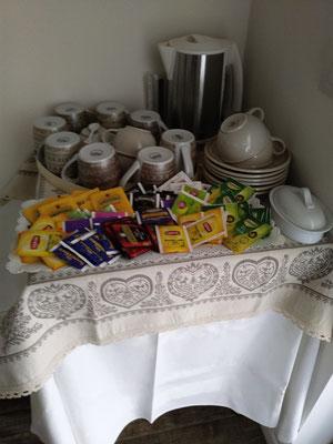 Angolo tè e caffè | B&B Residenza Iris Trento