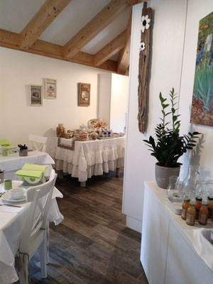 Saletta della colazione | B&B Residenza Iris Trento