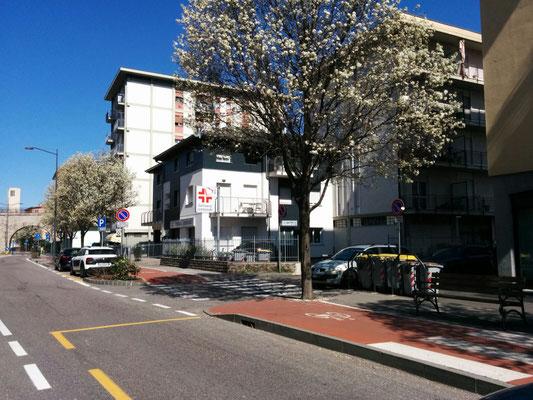 Via San Pio X - Fermata autobus  | B&B Residenza Iris a Trento