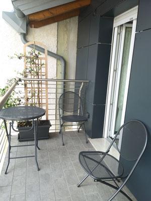 Balcone sala della colazione | B&B Residenza Iris Trento