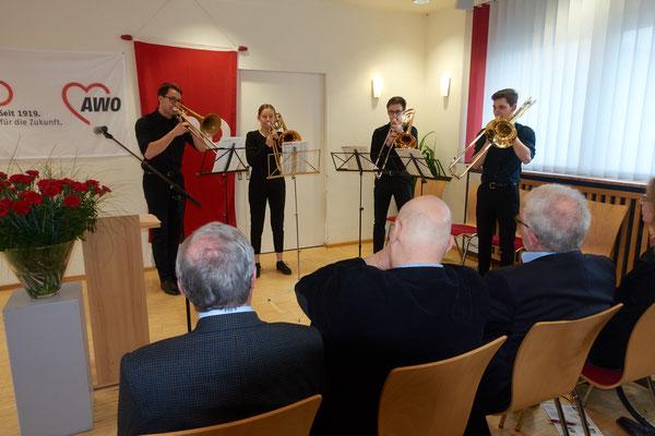 Posaunengruppe der Ettlinger Musikschule
