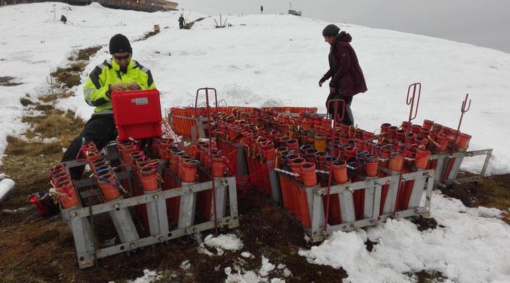 Bavarian Fireworx Performance Feuerwerkskörper im Winter
