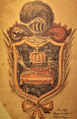 Wappen der Curtaz Branche Capaluogo und Prédilys