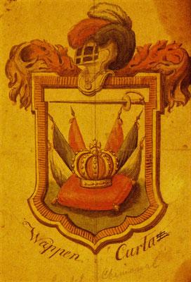 Wappen der Curta Branche Castell/Oberrhein und Chemonal