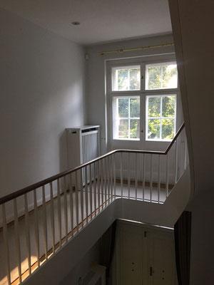Treppe Dielen schleifen Gelfertstrasse Dahlem Berlin