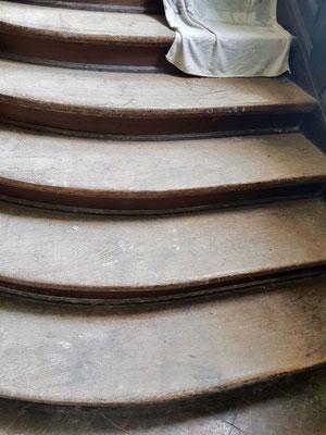 Parkett Treppe schleifen Friedrich-Ebert-Strasse Potsdam