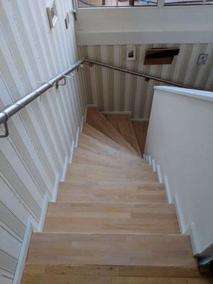 Treppen anschleifen Mühsamstrasse Friedrichshain Berlin