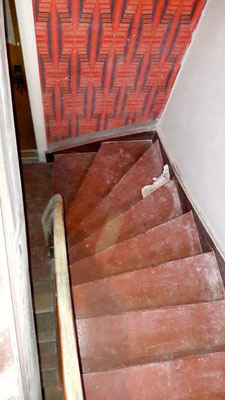 Treppen Ochsenblut schleifen Ringstrasse Falkensee bei Berlin