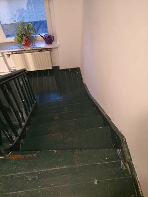 Treppe schleifen Lüttichauweg Friedrichsfelde Berlin