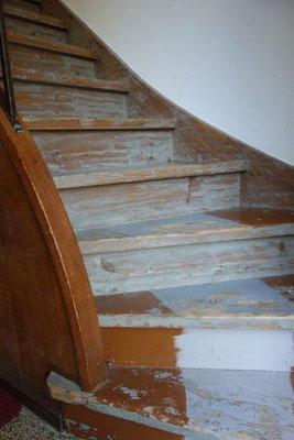 Treppe schleifen Scheffelstrasse Potsdam