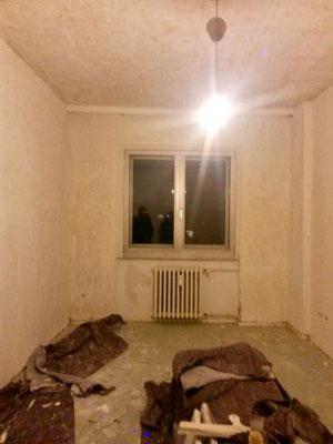 Verlegeplatten Dielen Ochsenblut schleifen Jonasstrasse Neukölln Berlin