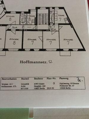 Dielen schleifen Hoffmannstrasse Adlershof Berlin