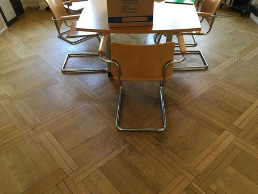 Parkett alte Versiegelung schleifen Habelschwerdter Allee Dahlem Berlin