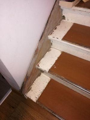 Treppen schleifen Fontanestrasse Pankow Berlin