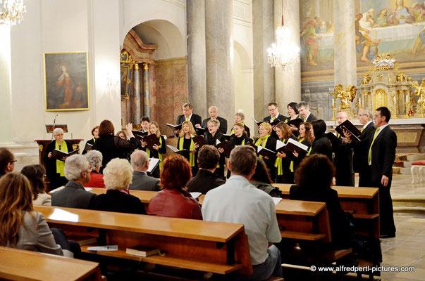 Konzert der Chorvereinigung pro musica in der Augustinerkirche im Rahmen der Korneuburger Kultur- und Musiktage 2015.