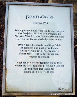 Pestsäule in Mistelbach