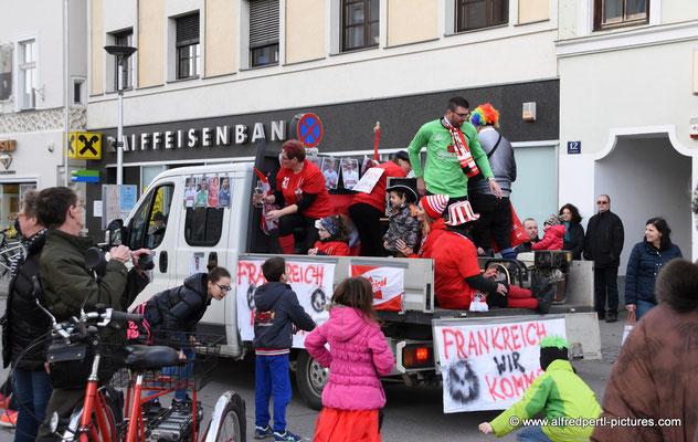 Faschingsumzug in Korneuburg 2016